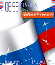 Flag theme screenshot