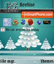 Winter Season theme screenshot
