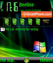 Windows Mobile v3 N80 es el tema de pantalla