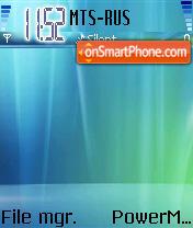 Windows Vista Ult es el tema de pantalla