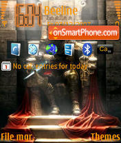 Prince Of Persia T2T theme screenshot