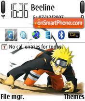 Naruto 09 theme screenshot