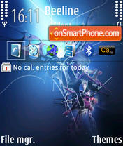 Mutation Nokia Icons theme screenshot
