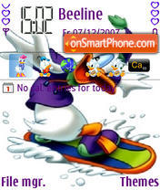 Donald Duck 02 theme screenshot