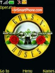 Guns N Roses theme screenshot