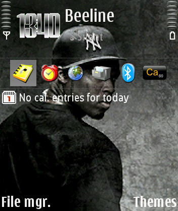 50 Cent theme screenshot