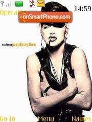 Madonna Justify theme screenshot