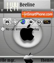 Black Apple theme screenshot