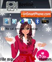 Скриншот темы Snow 03
