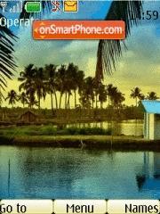 Beautiful Island theme screenshot