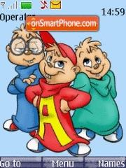 Alvin N Chipmunks theme screenshot