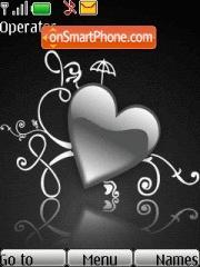 Silver Heart theme screenshot