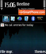 Ultimate DI theme screenshot