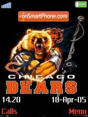 Chicago Bears theme screenshot