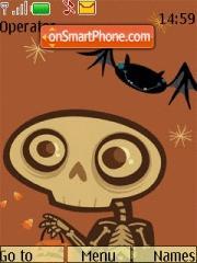 Zombi theme screenshot
