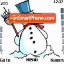 Snow Man 01 es el tema de pantalla
