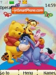 Pooh N Friends theme screenshot