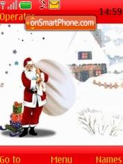 Santa theme screenshot