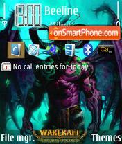 Скриншот темы World of Warcraft 01