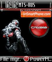 Crysis 01 es el tema de pantalla