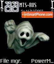 Animated 3d Ghost es el tema de pantalla