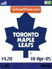 Toronto Maple Leafs es el tema de pantalla