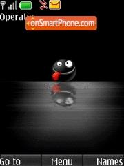 Black Smile tema screenshot
