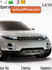 Land Rover Lrx tema screenshot