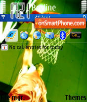 Скриншот темы Basketball 01
