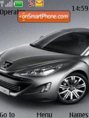 Peugeot 308 Rc Z Concept theme screenshot