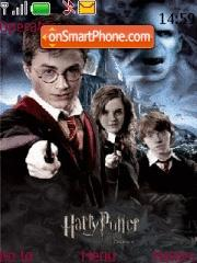 Harry Potter 10 theme screenshot