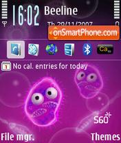 Amoebas S60 3rdEd 240x320 theme screenshot