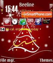 Xmas 02 tema screenshot