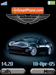 Aston Martin 07 es el tema de pantalla