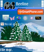 Winter 07 theme screenshot