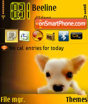 Doggy 02 theme screenshot