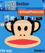 Monkey 02 theme screenshot