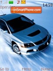 Mitsubishi Evo 01 tema screenshot