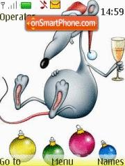 Christmas For Mouse es el tema de pantalla