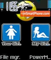 Your Girl My Girl es el tema de pantalla