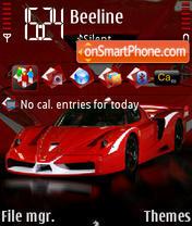 Ferrari FFX Evo es el tema de pantalla