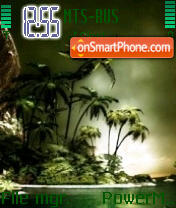 Скриншот темы Island Jungle