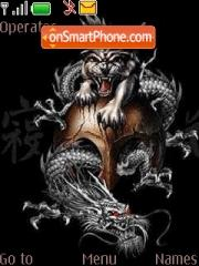 Скриншот темы Dragon Tiger