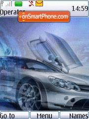 Mercedes Slk theme screenshot