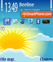 Sun 01 Theme-Screenshot