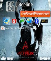 Aeon Flux 04 theme screenshot