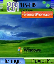XP Mobile 2008 theme screenshot