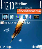 Feather Plume theme screenshot