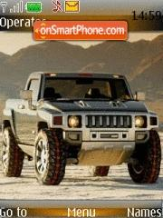 Hummer 01 theme screenshot