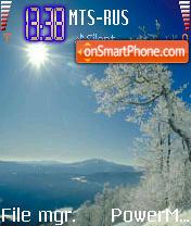 Winter Jank es el tema de pantalla